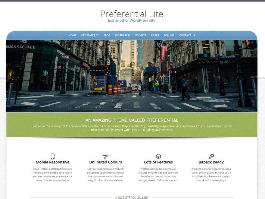Download Preferential Lite 2.1.0 – Free WordPress Theme