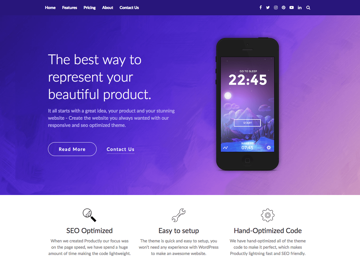 Download Productly 3.3 – Free WordPress Theme