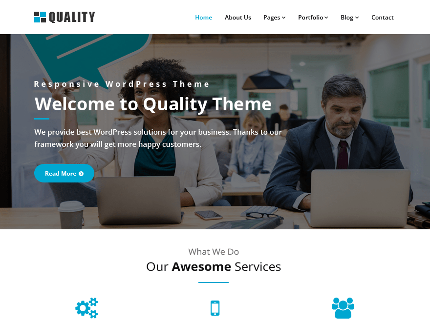 Download Quality 2.2.2 – Free WordPress Theme