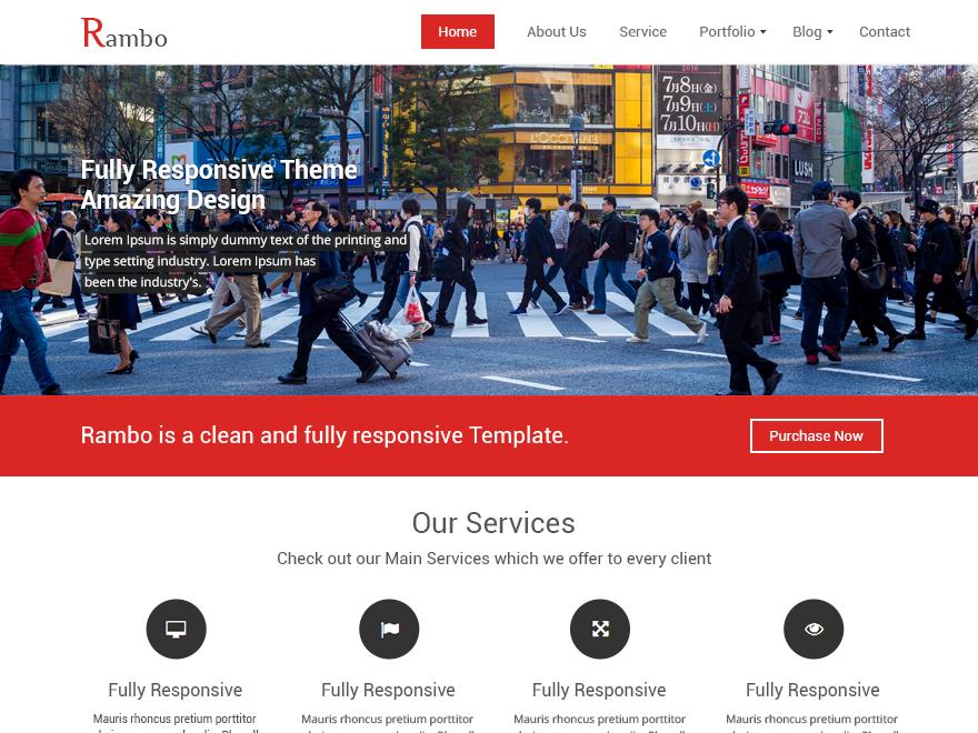 Download Rambo 1.7.1 – Free WordPress Theme