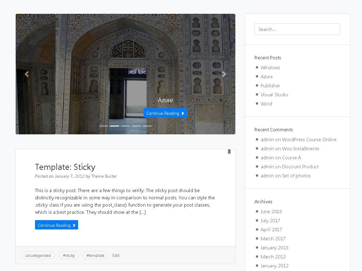 Download Rang Mahal 1.0.5 – Free WordPress Theme