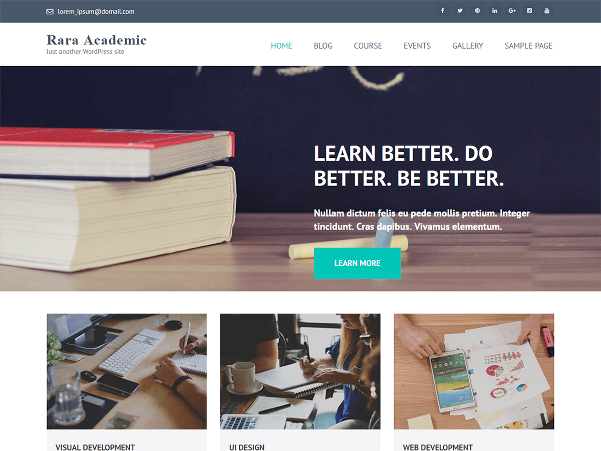 Download Rara Academic 1.1.2 – Free WordPress Theme