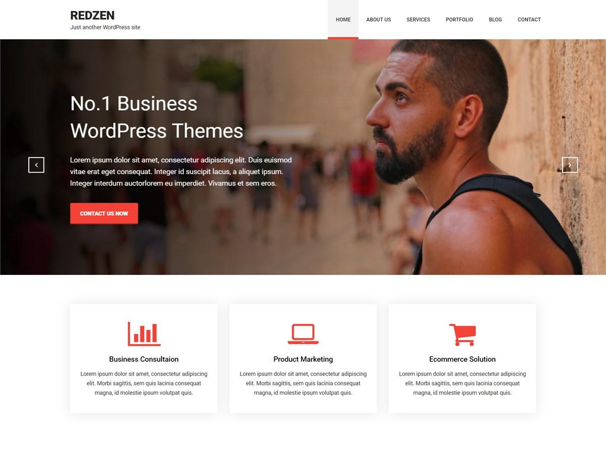 Download Redzen 1.0.3 – Free WordPress Theme