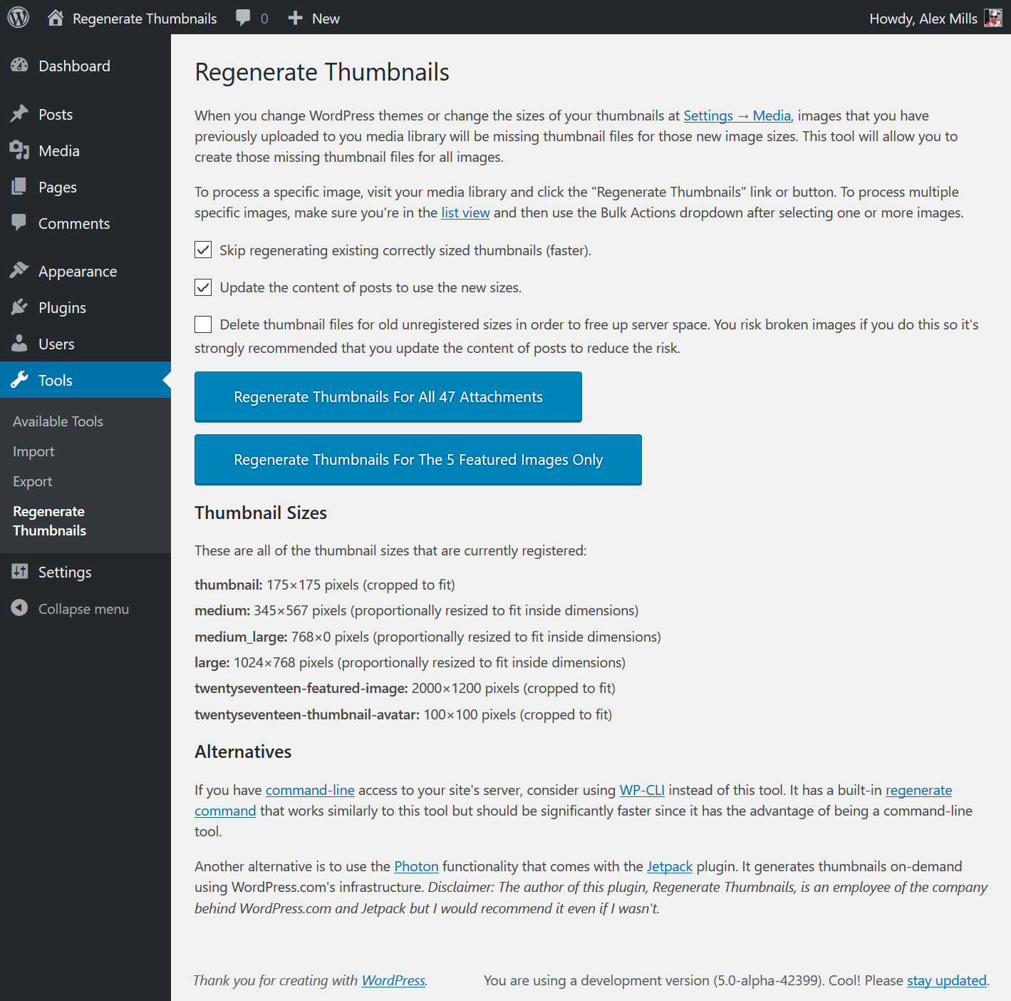 Download Regenerate Thumbnails 3.0.2 – Free WordPress Plugin
