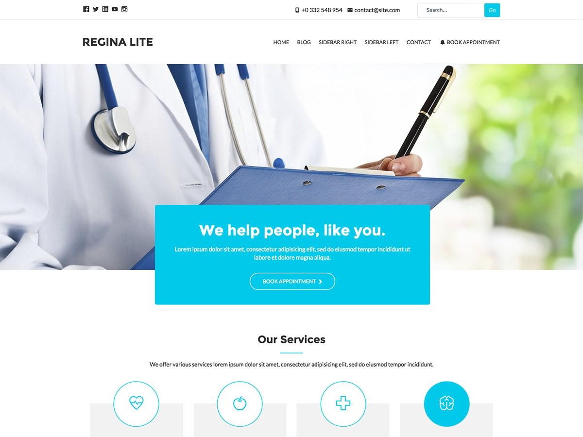 Download Regina Lite 2.0.2 – Free WordPress Theme