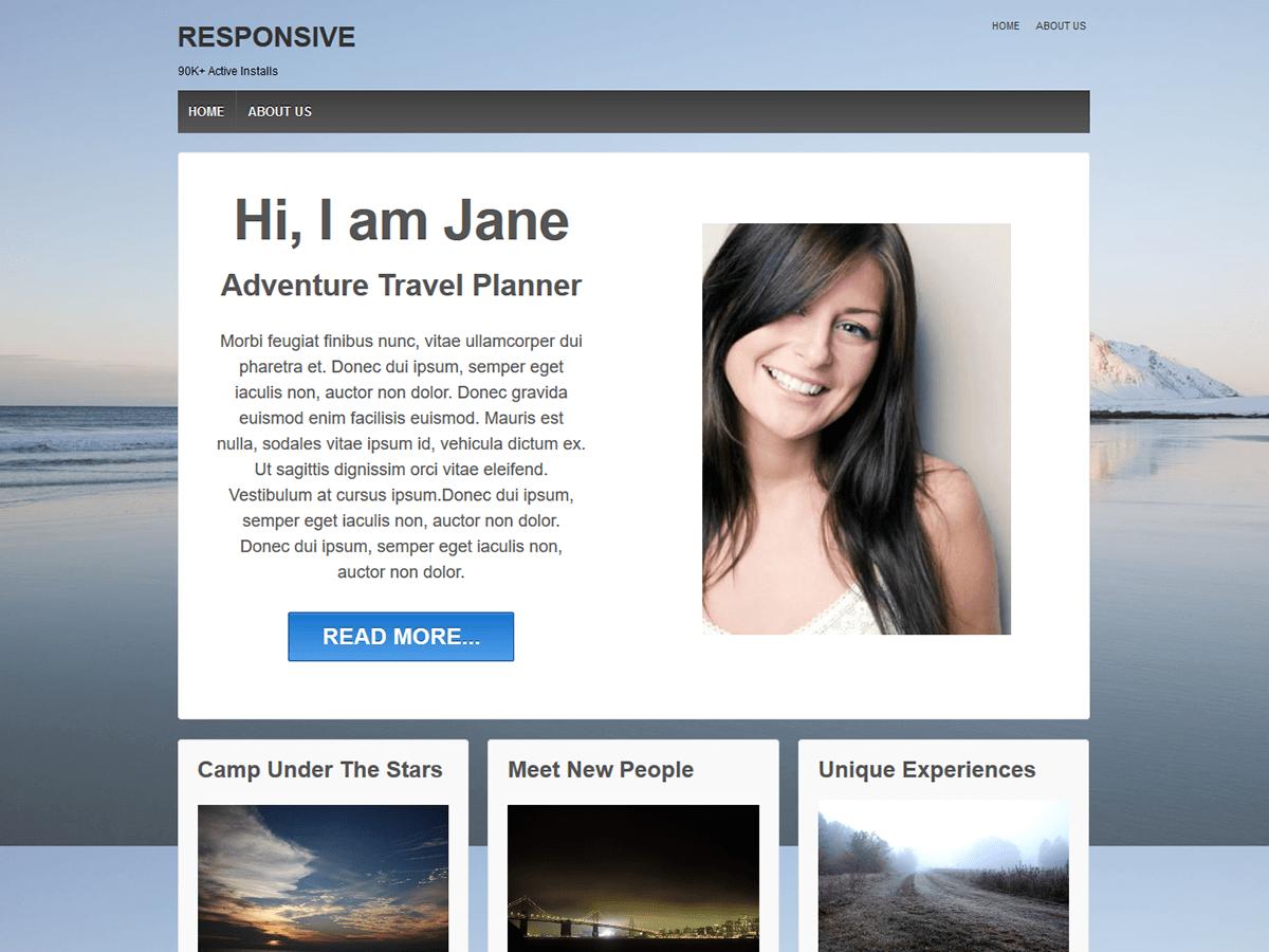 Download Responsive 3.12 – Free WordPress Theme