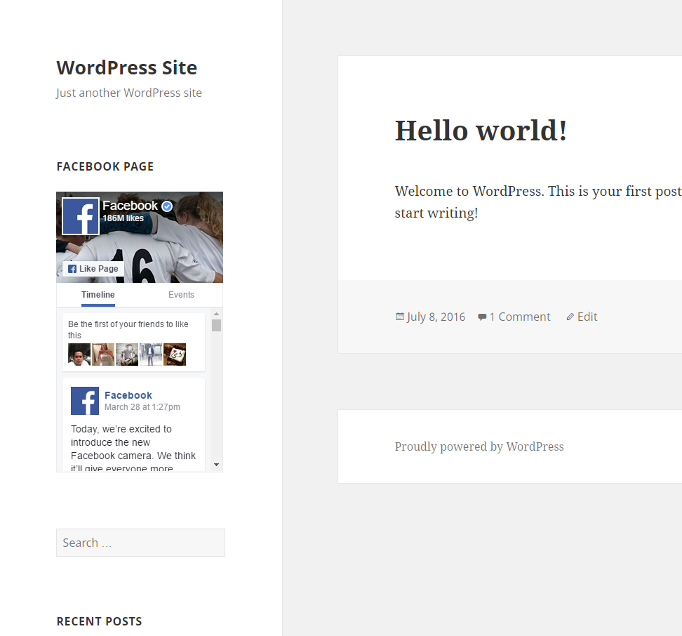 Download Responsive Facebook Page Plugin 1.6.3 – Free WordPress Plugin