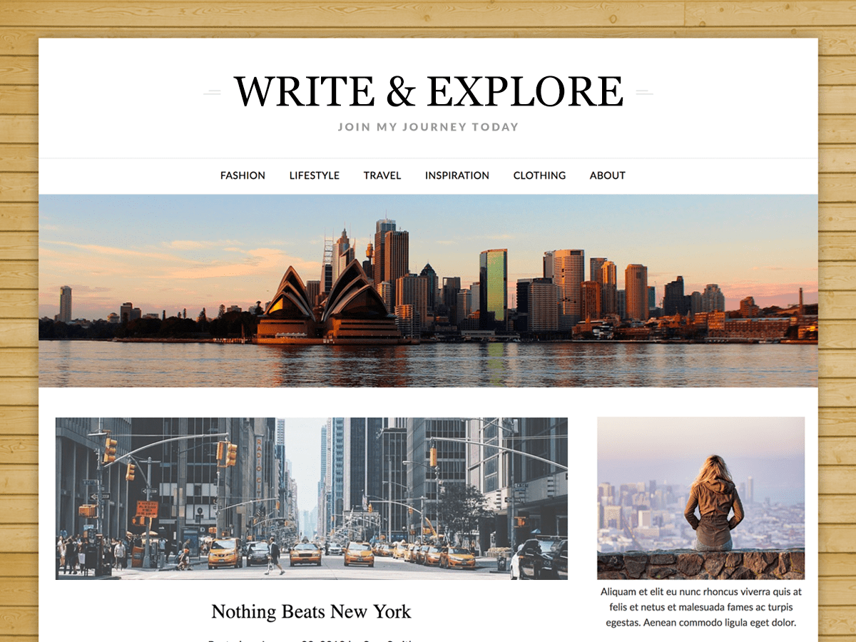 Download ResponsiveBlogily 1.6 – Free WordPress Theme