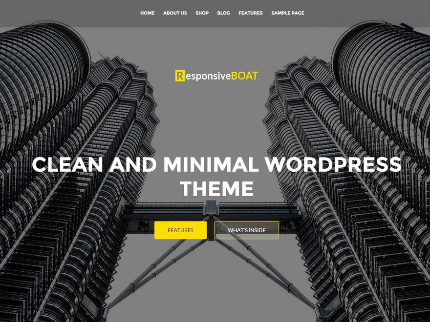 Download ResponsiveBoat 1.1.5 – Free WordPress Theme