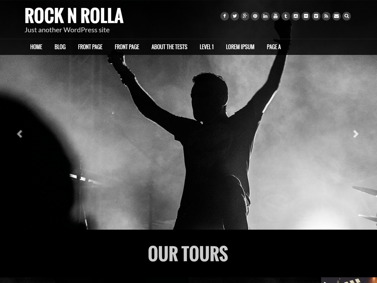 Download Rock N Rolla 1.0.3 – Free WordPress Theme