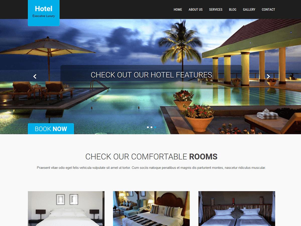 Download SKT Hotel Lite 1.9 – Free WordPress Theme