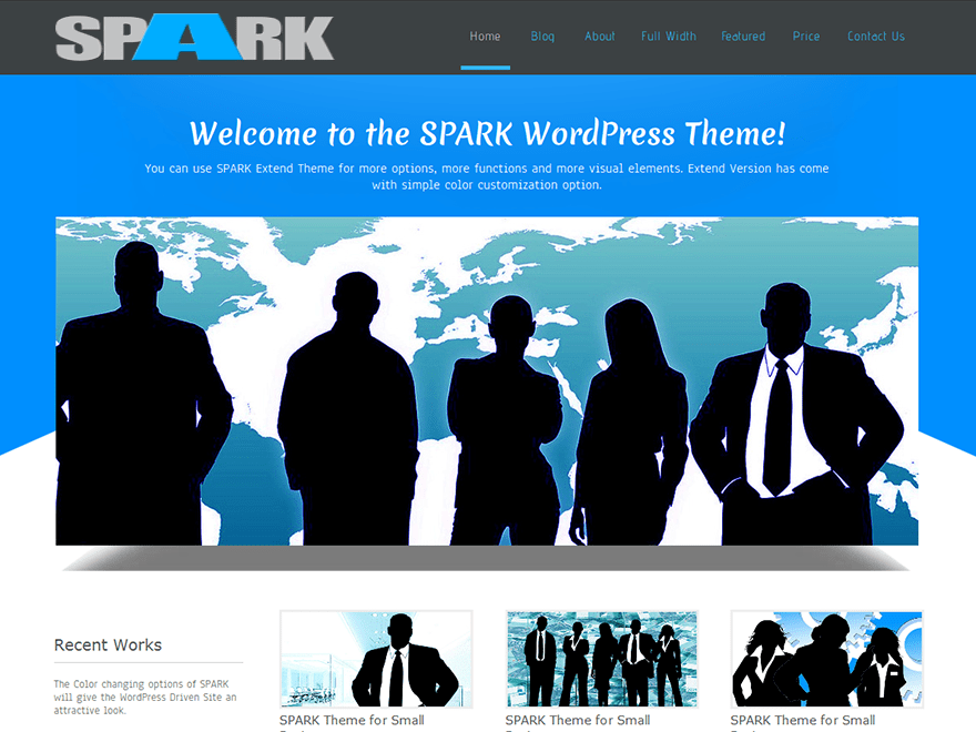 Download SPARK 1.7 – Free WordPress Theme