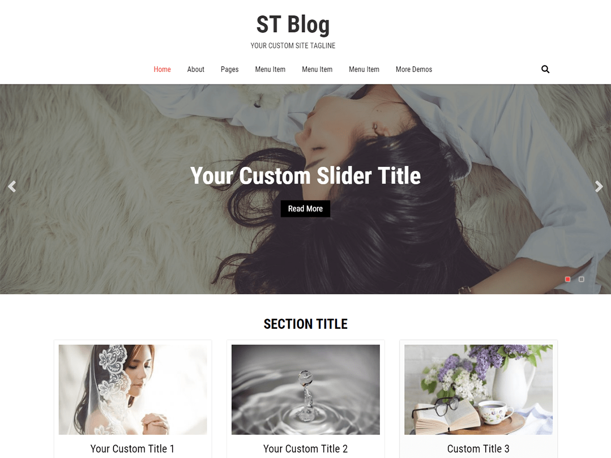 Download ST Blog 1.0.5 – Free WordPress Theme