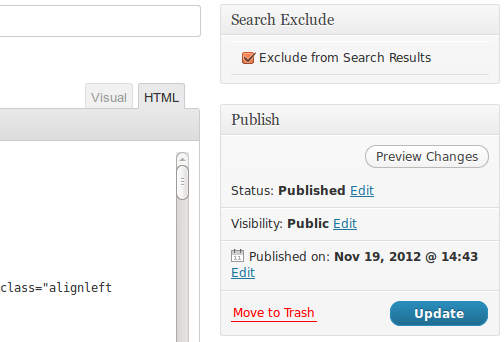Download Search Exclude 1.2.2 – Free WordPress Plugin