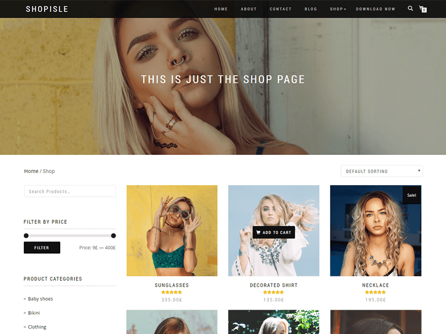Download Shop Isle 1.1.47 – Free WordPress Theme