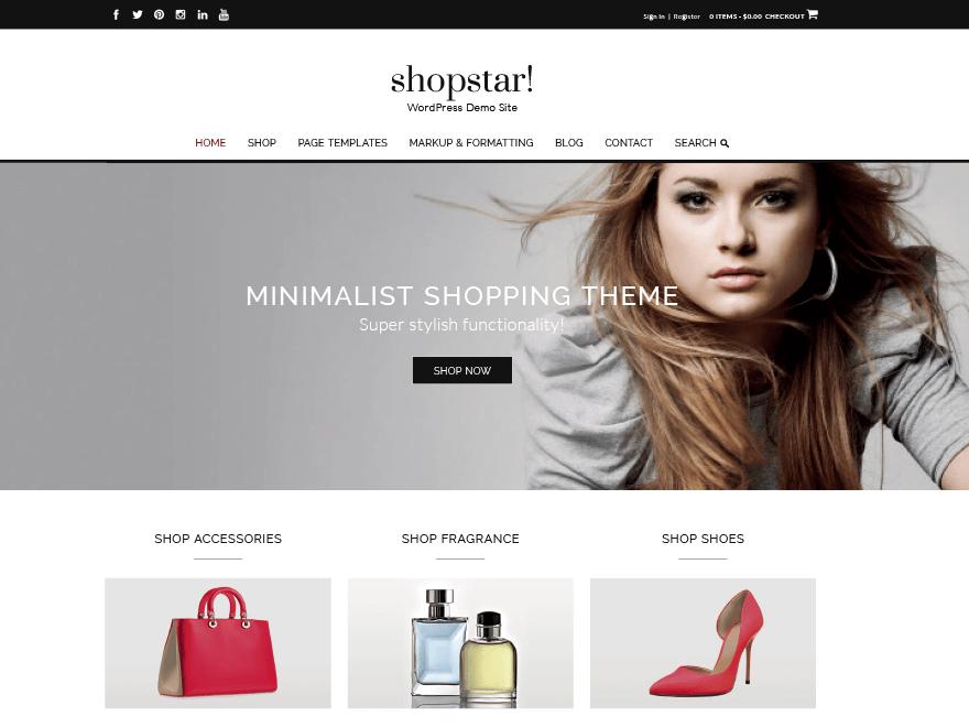 Download Shopstar 1.0.50 – Free WordPress Theme