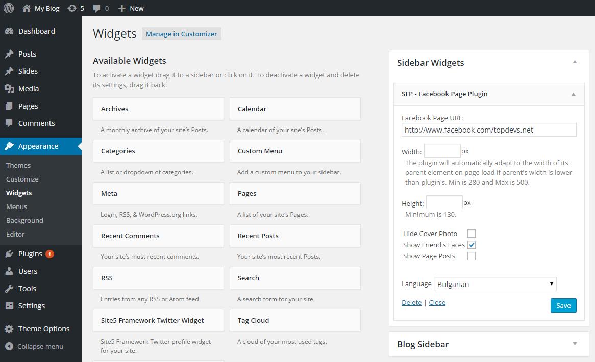 Download Simple Facebook Plugin 1.5.1 – Free WordPress Plugin