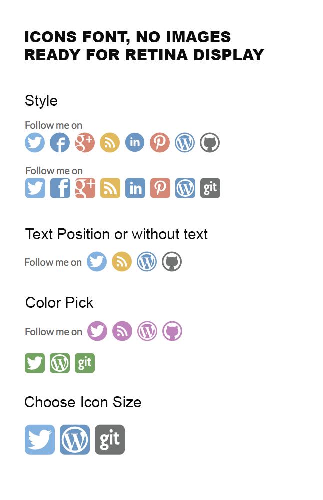 Download Simple Follow Me Social Buttons Widget 3.3.3 – Free WordPress Plugin