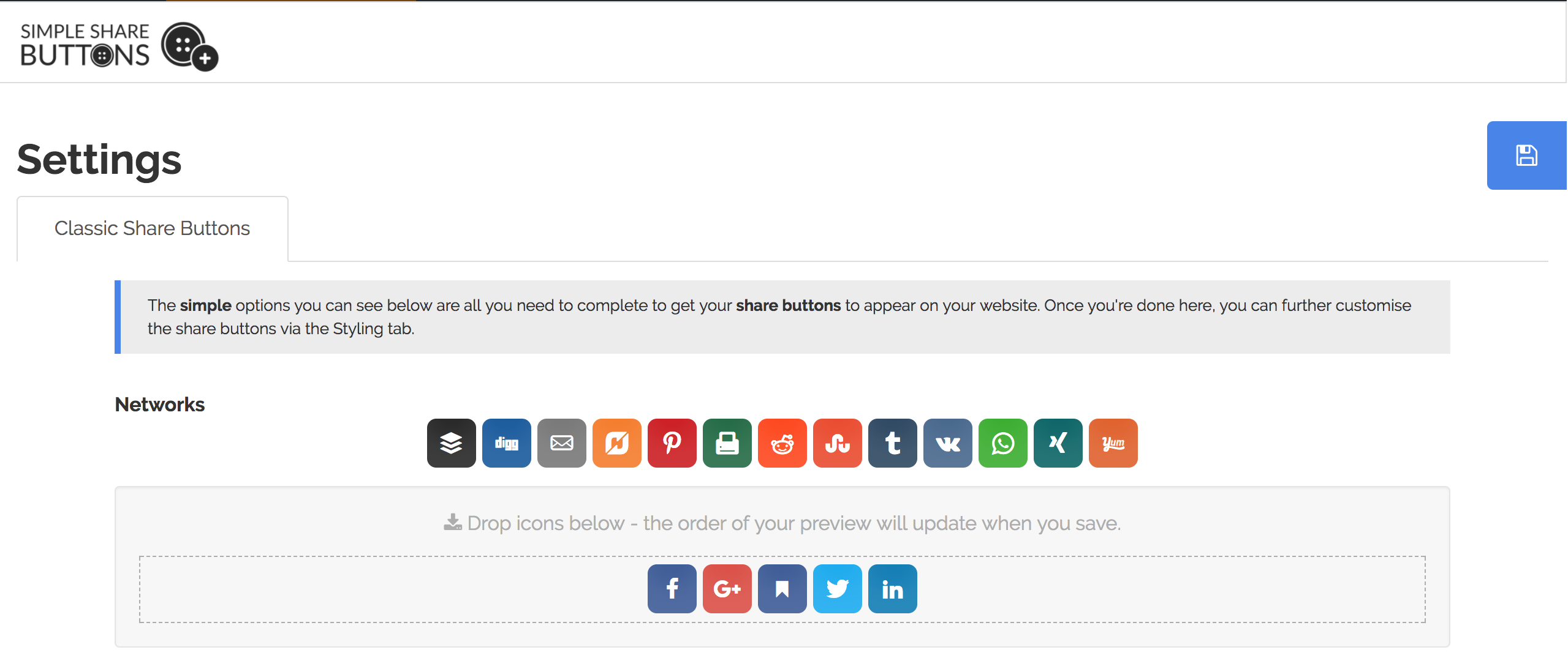 Download Simple Share Buttons Adder 7.4.18 – Free WordPress Plugin