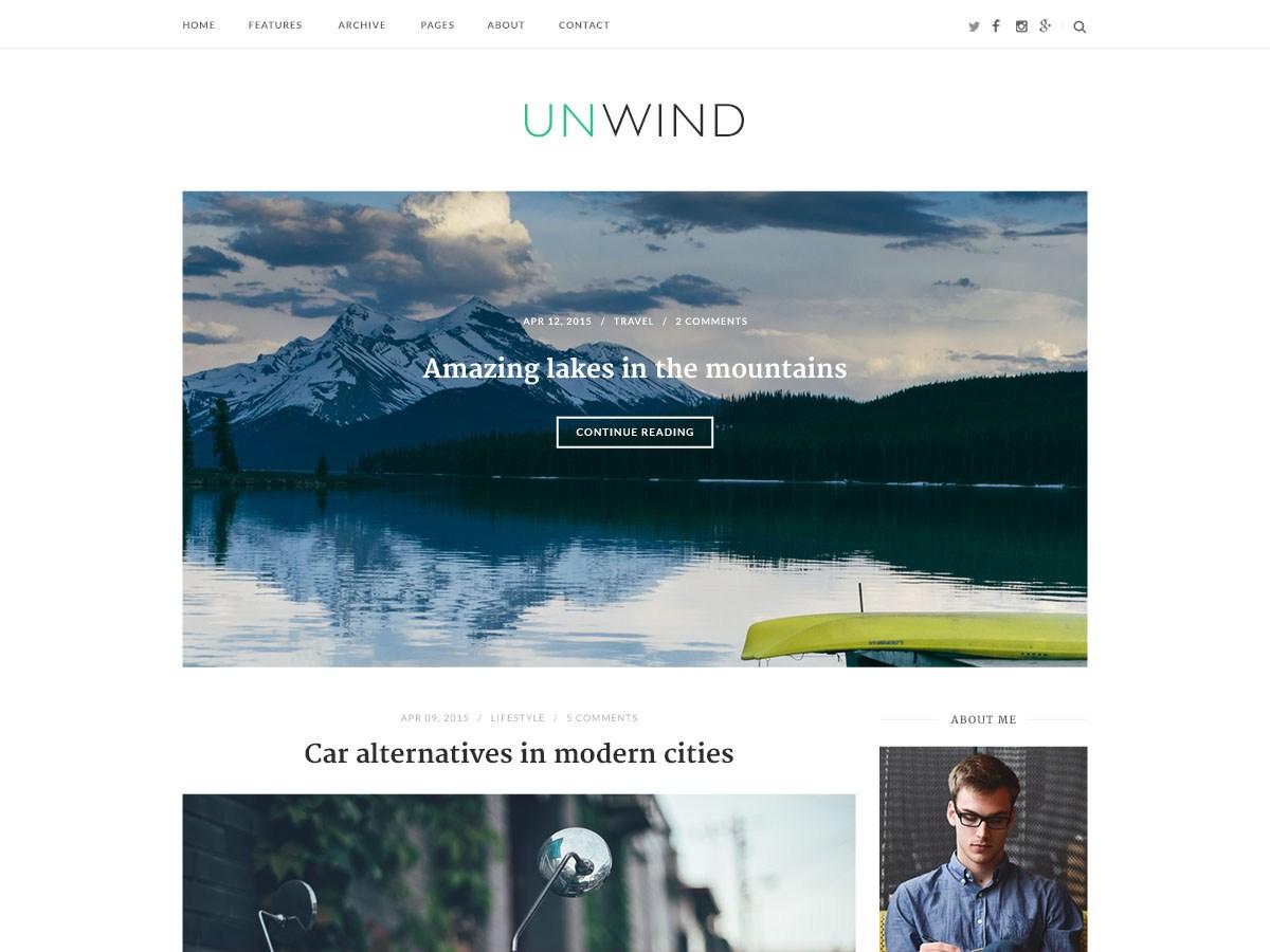 Download SiteOrigin Unwind 1.3.2 – Free WordPress Theme