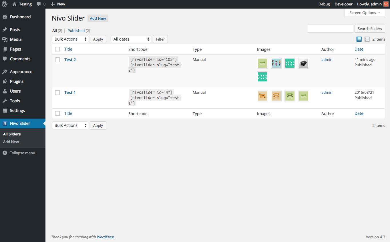 Download Slider by Nivo – Responsive WordPress Image Slider 2.1.2 – Free WordPress Plugin
