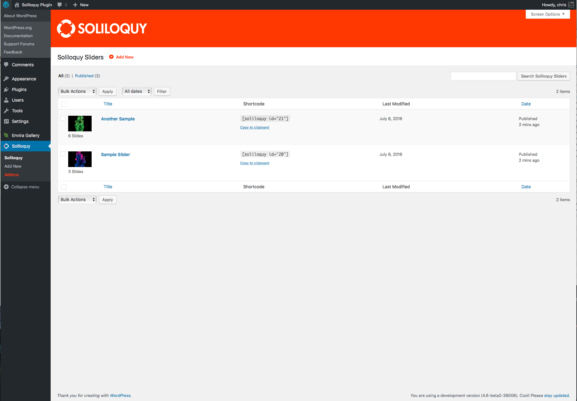 Download Slider by Soliloquy – Responsive Image Slider for WordPress 2.5.3 – Free WordPress Plugin