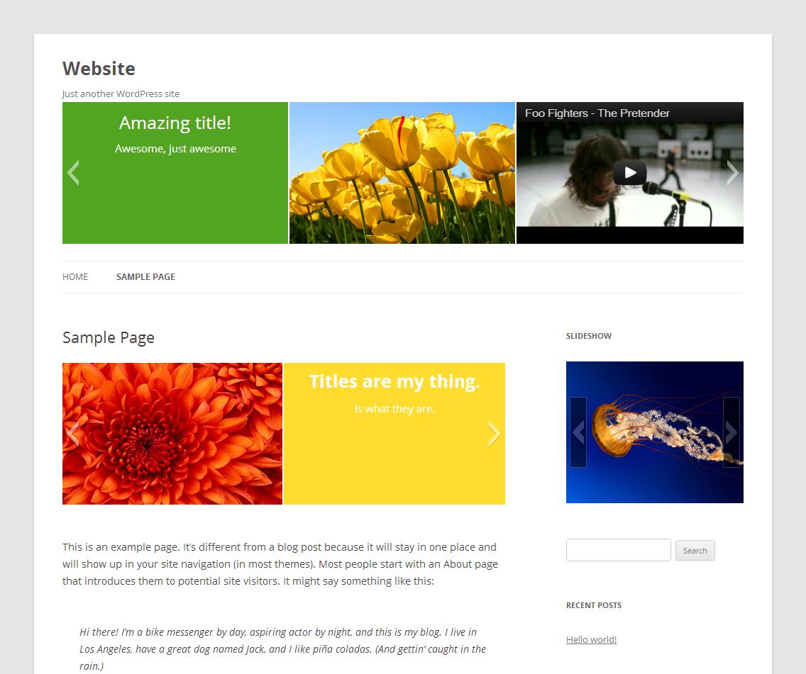 Download Slideshow 2.3.1 – Free WordPress Plugin