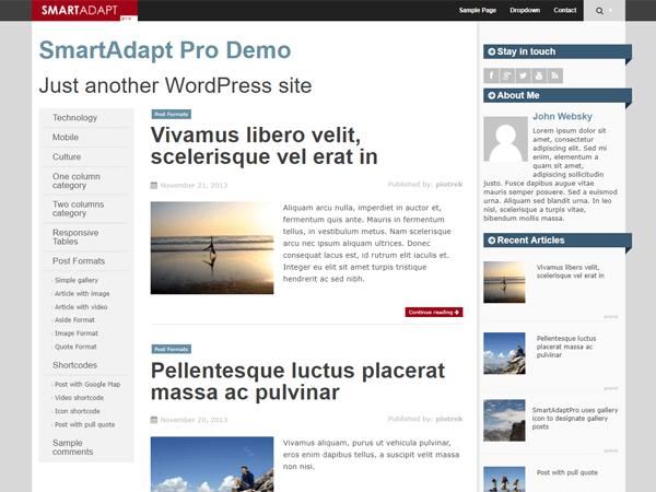 Download SmartAdapt 2.0.1 – Free WordPress Theme