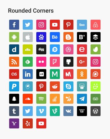 Download Social Icons Widget by WPZOOM 3.0.11 – Free WordPress Plugin