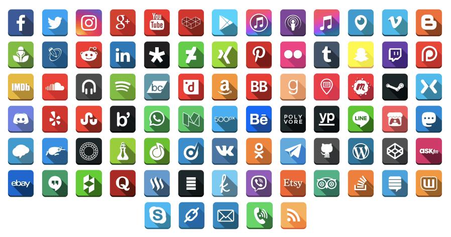 Download Social Media Follow Buttons Bar 4.42 – Free WordPress Plugin