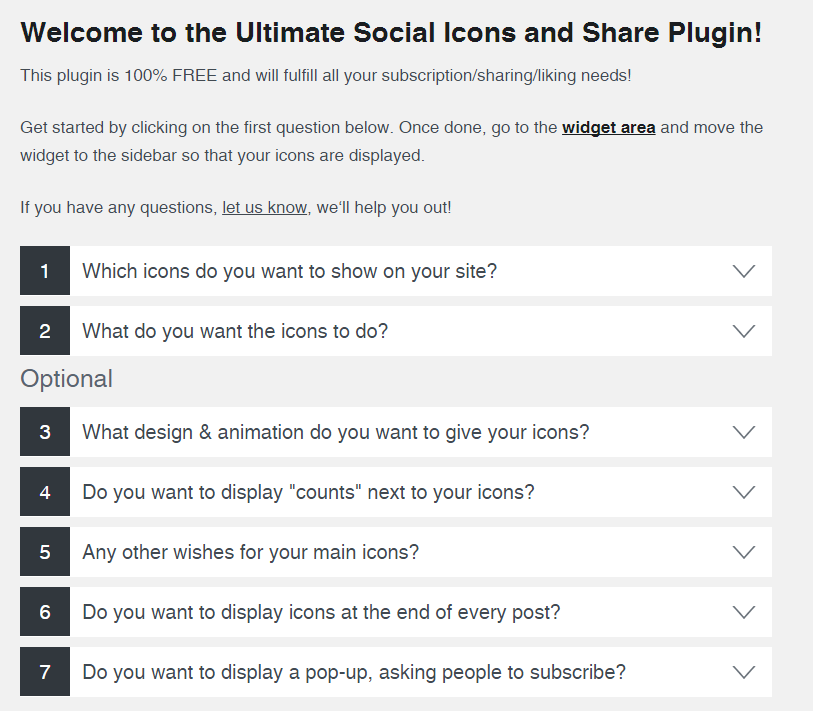 Download Social Media Share Buttons & Social Sharing Icons 2.0.6 – Free WordPress Plugin