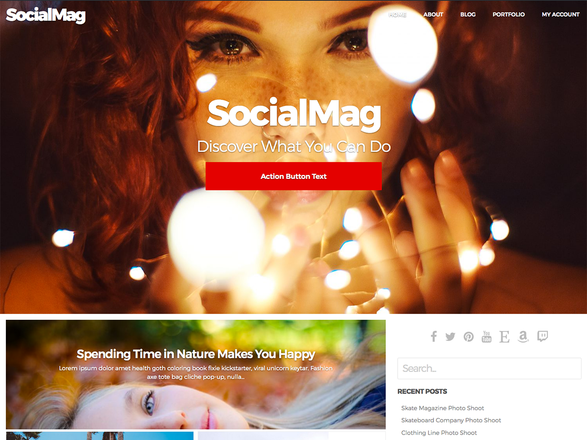 Download SocialMag 1.1.1 – Free WordPress Theme