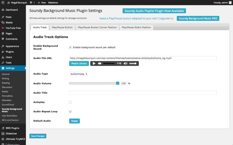 Download Soundy Background Music 3.9 – Free WordPress Plugin