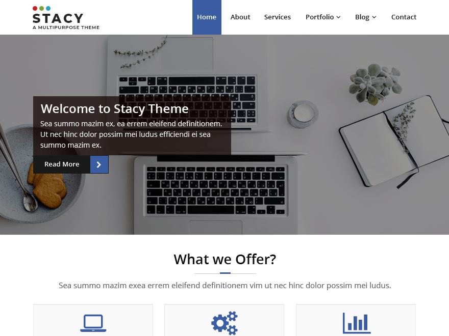 Download Stacy 1.2.4 – Free WordPress Theme