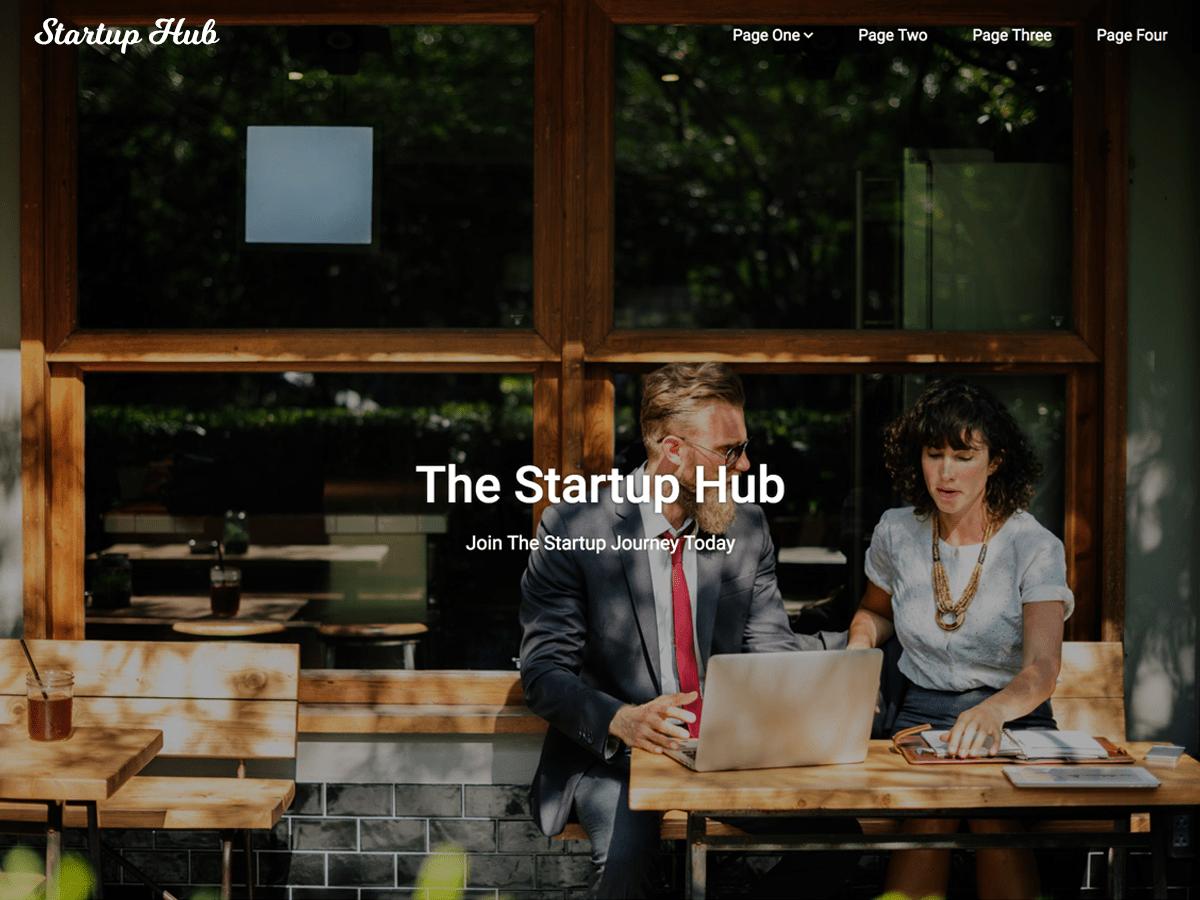 Download Startup Hub 0.4 – Free WordPress Theme