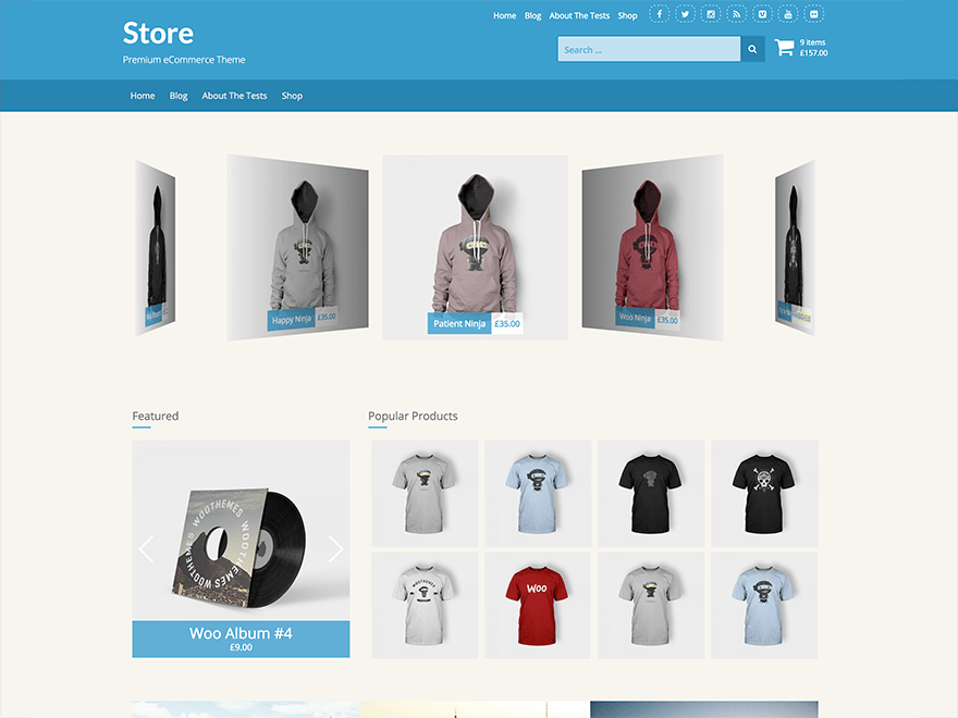 Download Store 1.2.0 – Free WordPress Theme