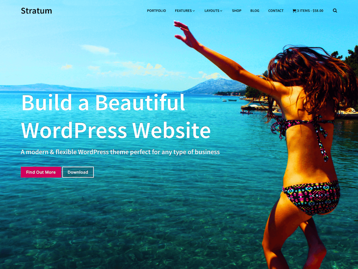 Download Stratum 1.1.1 – Free WordPress Theme