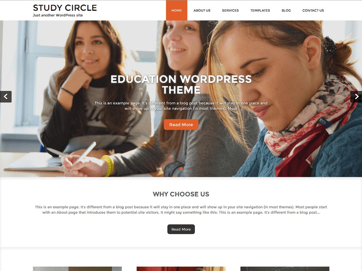 Download Study Circle 1.7.0 – Free WordPress Theme