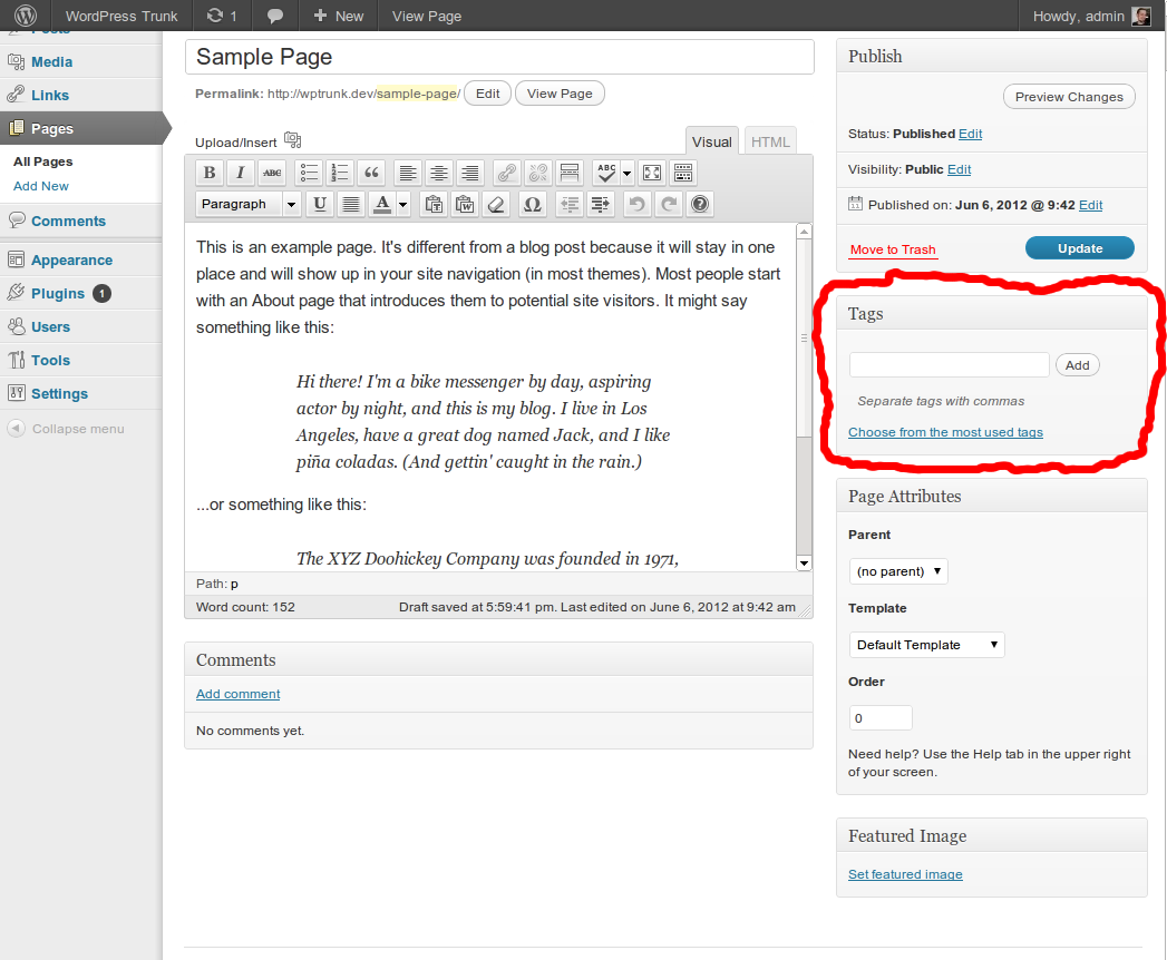 Download Tag Pages 1.0.1 – Free WordPress Plugin