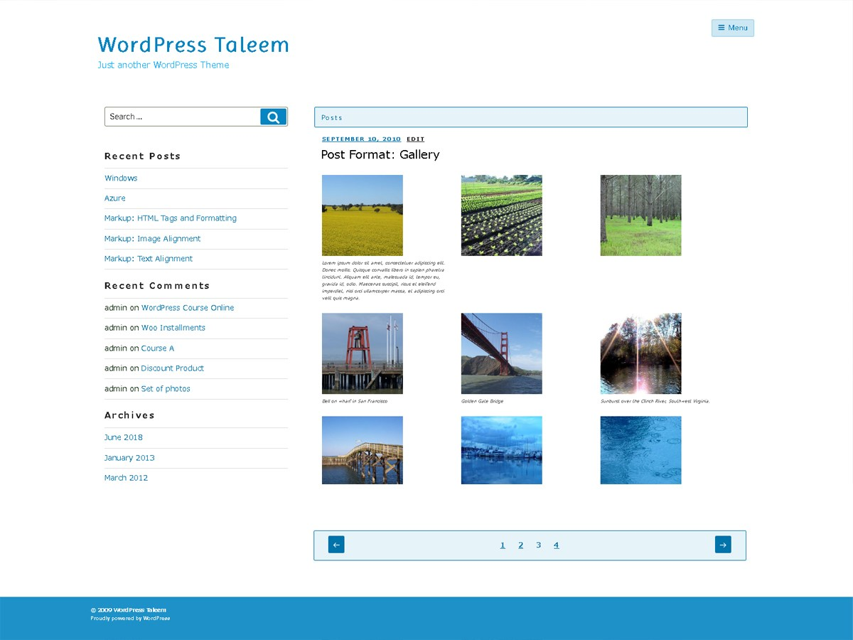 Download Taleem 1.0.3 – Free WordPress Theme