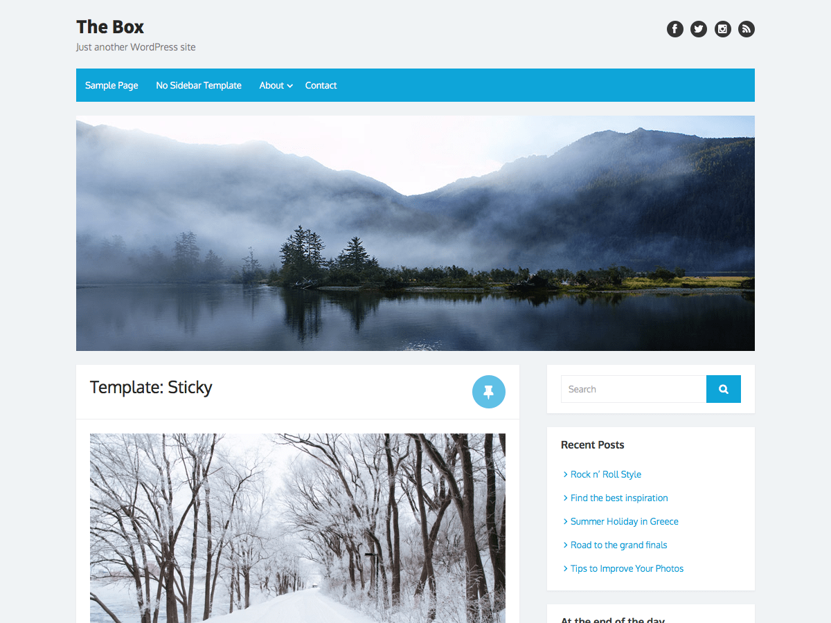 Download The Box 1.4.9.1 – Free WordPress Theme
