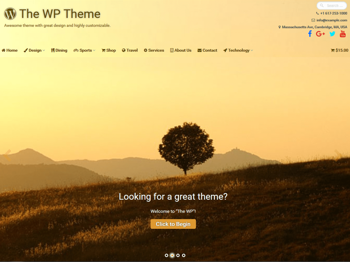 Download The WP 3.19 – Free WordPress Theme