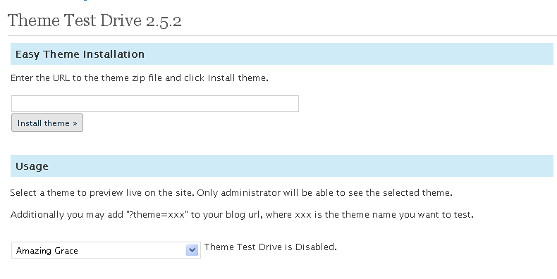 Download Theme Test Drive 2.9.1 – Free WordPress Plugin
