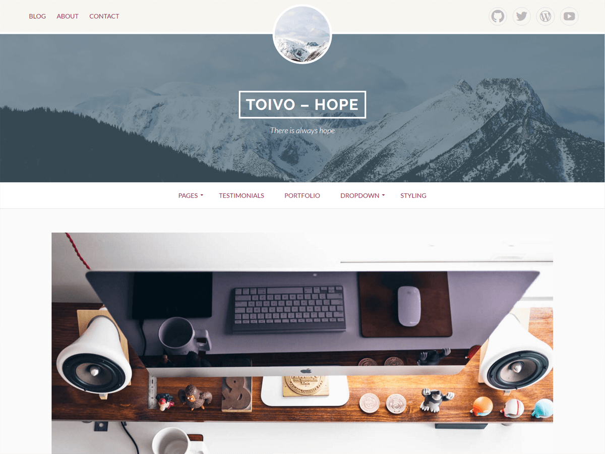 Download Toivo Lite 1.2.0 – Free WordPress Theme