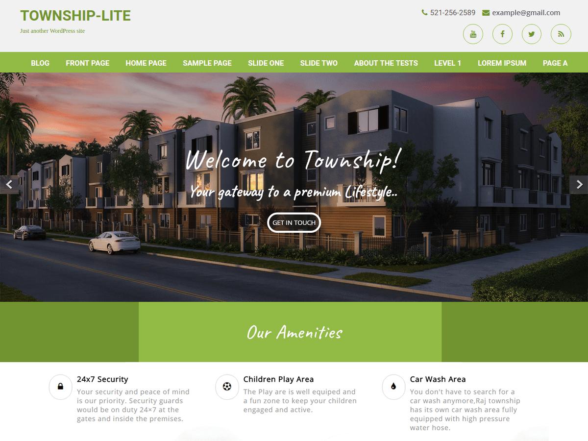 Download Township Lite 1.1.5.2 – Free WordPress Theme