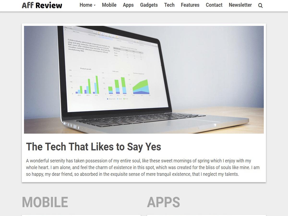 Download Tr Affreview Lite 1.0.6 – Free WordPress Theme