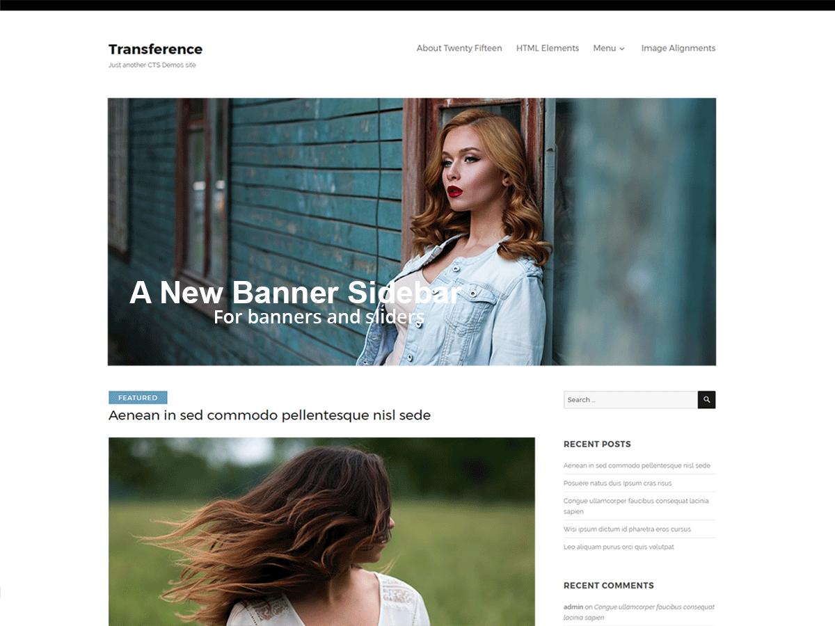Download Transference 1.0.2 – Free WordPress Theme
