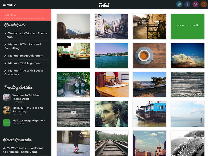 Download Tribal 1.0.0.1 – Free WordPress Theme