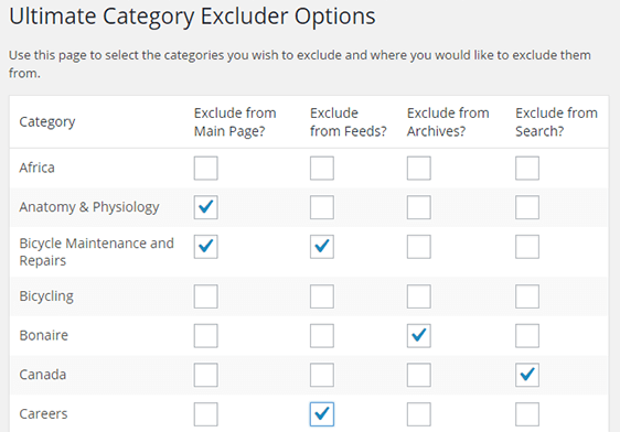 Download Ultimate Category Excluder 1.1 – Free WordPress Plugin