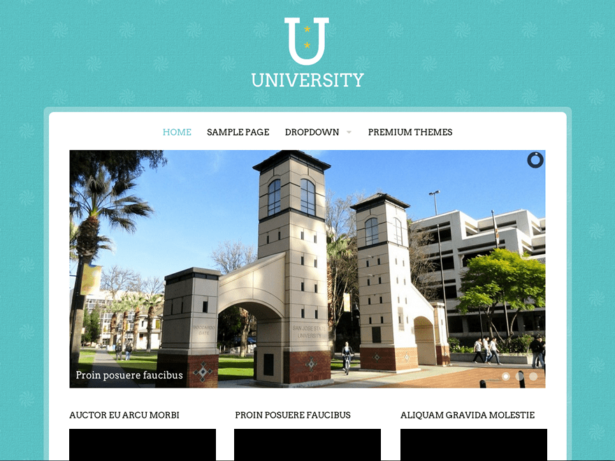 Download University 1.3 – Free WordPress Theme